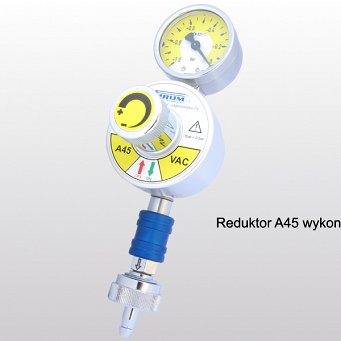 Reduktor A45 - regulator próżni
