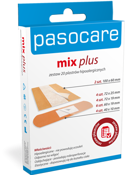 PLASTRY PASOCARE MIX PLUS
