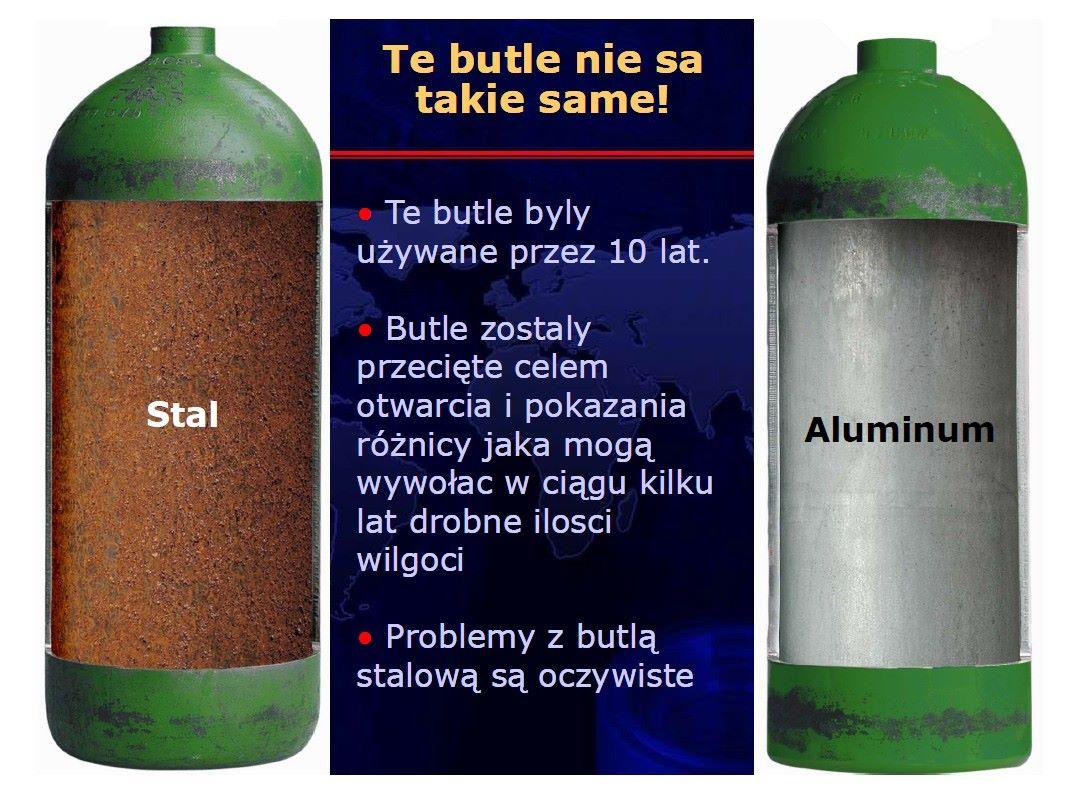 Butla aluminiowa vs stalowa